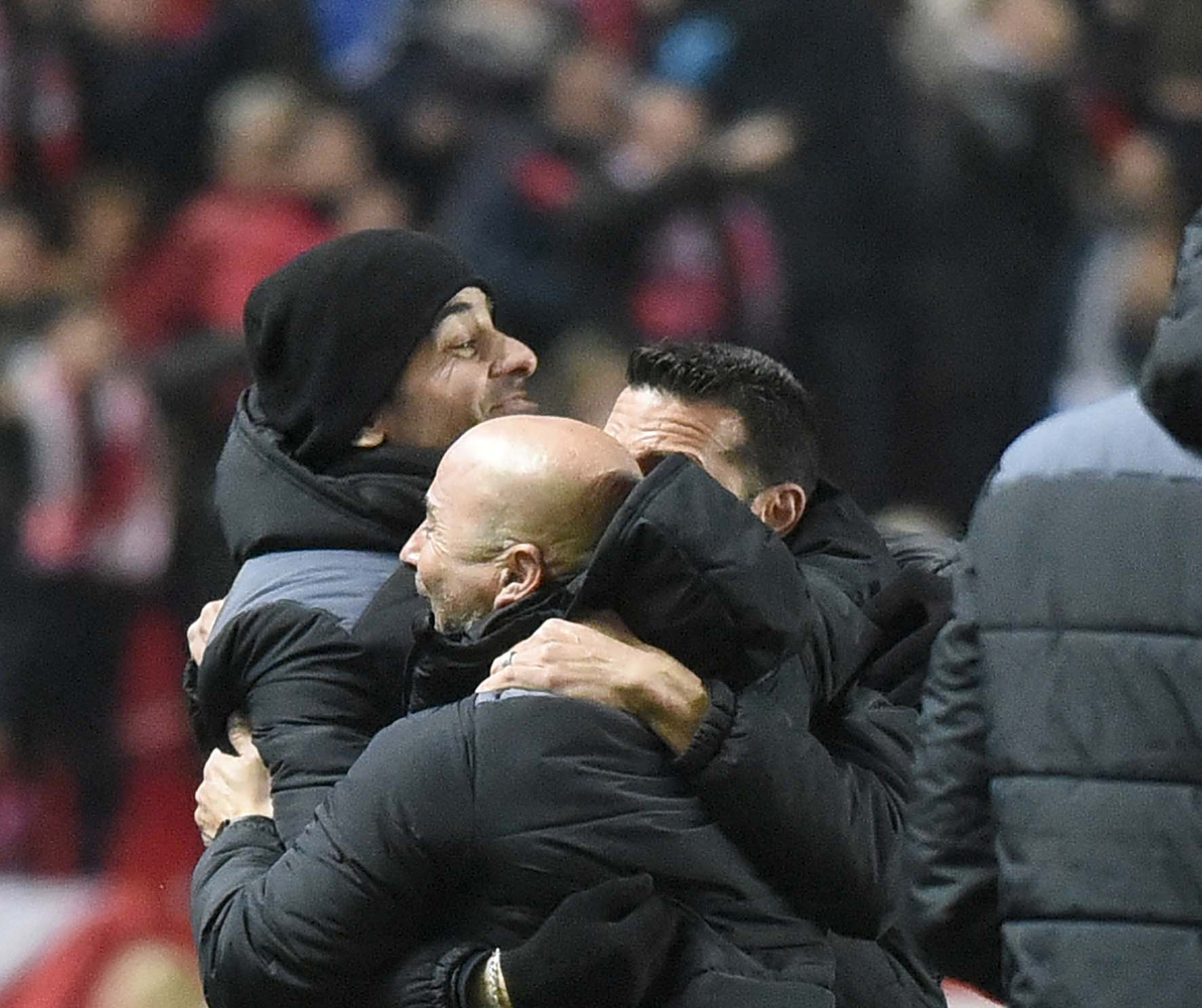Sampaoli, en el Sevilla FC-Real Madrid