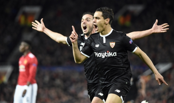 But de Ben Yedder à Old Trafford