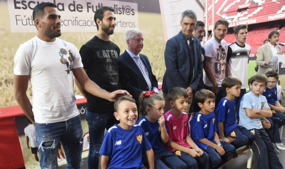 Introduction of the tenth season of  the Antonio Puerta Football School