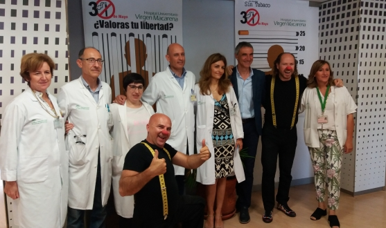 Antonio Álvarez at the Virgen Macarena Hospital