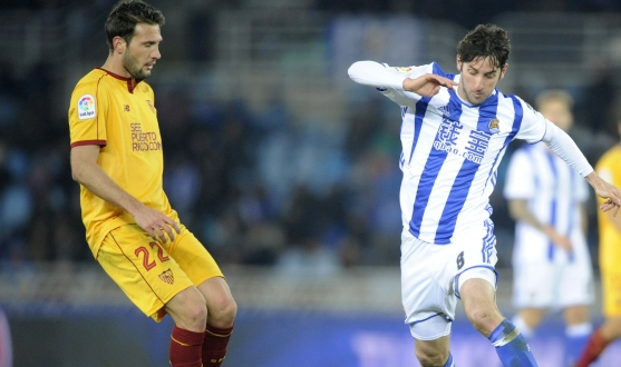 January's match between Real Sociedad and Sevilla FC
